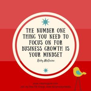 Number 1 Biz #Mindset