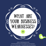 What Are Your Business Weaknesses?